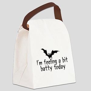 A Bit Batty Canvas Lunch Bag