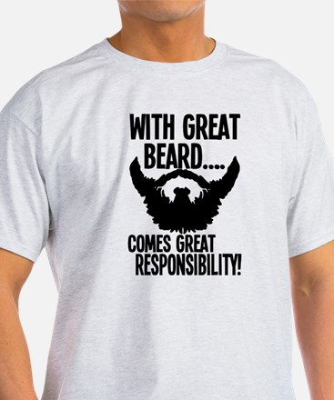 Unique Beards they grow on you T-Shirt
