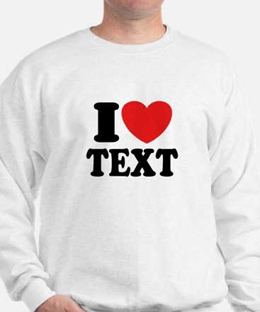 I Heart Personalized Jumper