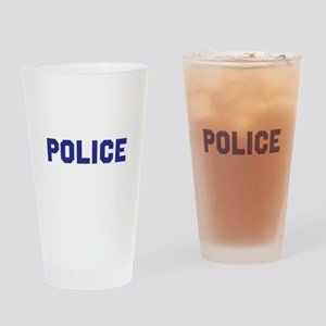 POLICE Drinking Glass