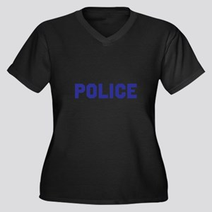 POLICE Plus Size T-Shirt
