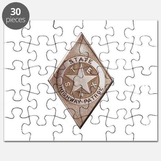 Cute Texas highway patrol Puzzle