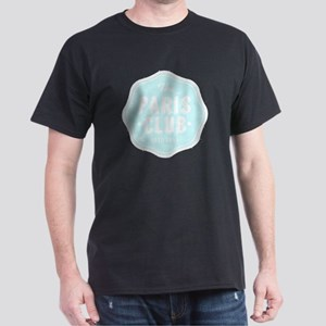 The Paris Club Light Blue White Lette Dark T-Shirt