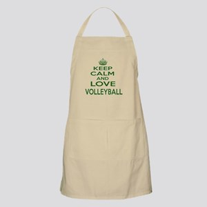 Keep calm and love Volleyball Light Apron