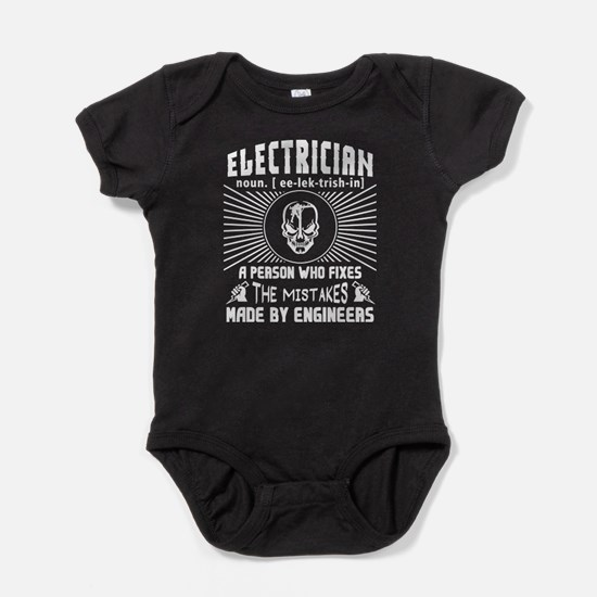 Electrician Who Fixes The Mistakes T Shi Body Suit