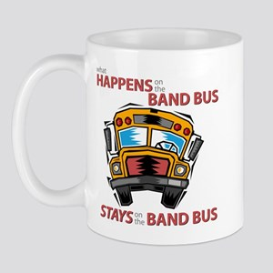 What Happens on the Band Bus Mug