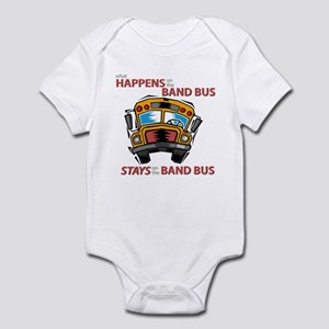 What Happens on the Band Bus Infant Bodysuit