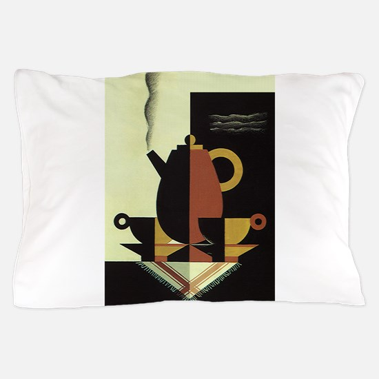 Vintage Coffee Pillow Case