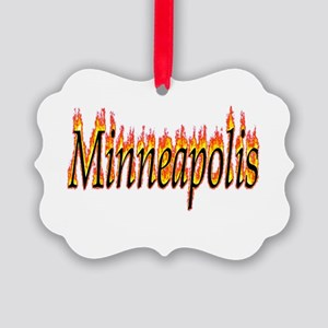 Minneapolis Flame Ornament
