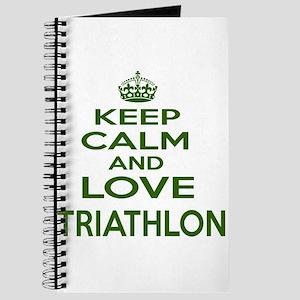 Keep calm and love Triathlon Journal