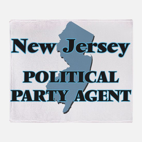 New Jersey Political Party Agent Throw Blanket