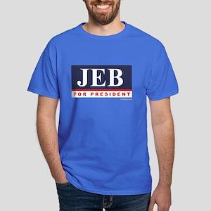 Jeb for President Dark T-Shirt