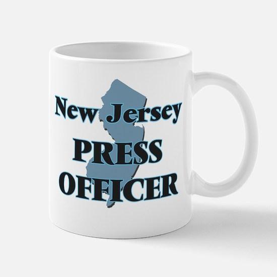 New Jersey Press Officer Mugs