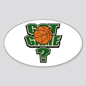 Got Game? Oval Sticker