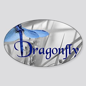 Blue Dragonfly Sticker