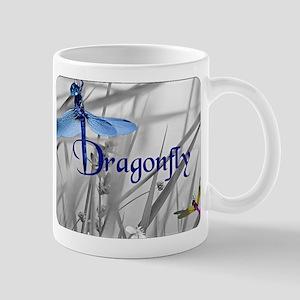 Blue Dragonfly Mugs