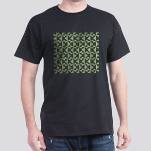 Green Pinwheels Dark T-Shirt