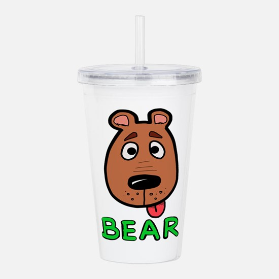 Bear Acrylic Double-wall Tumbler