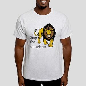 Stop Lion Slaughter T-Shirt