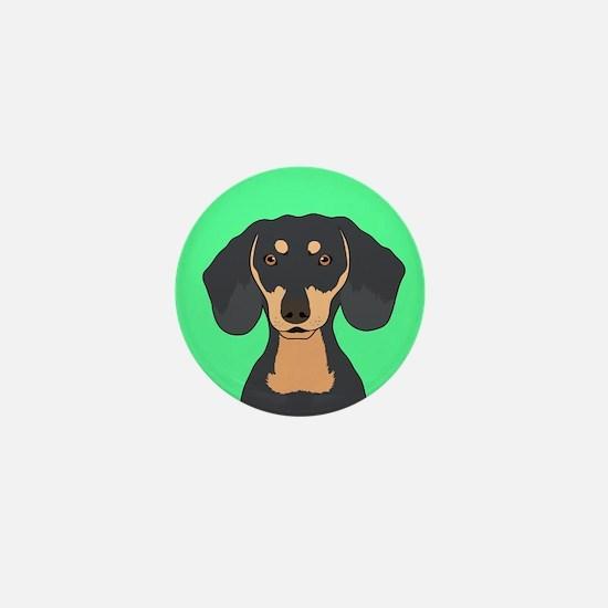 Dachshund Mini Button