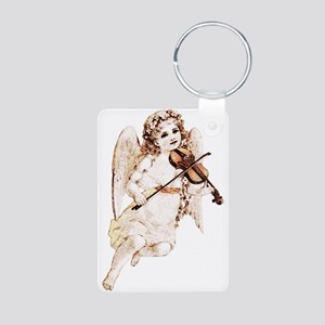 Angel With Violin Keychains
