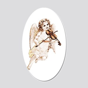 Angel With Violin Wall Decal