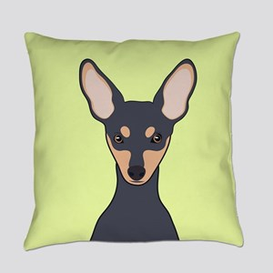 Miniature Pinscher Everyday Pillow