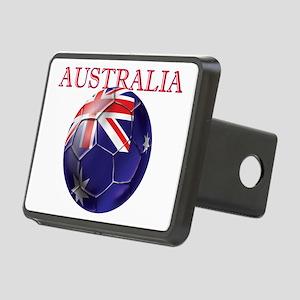 Australia Football Rectangular Hitch Cover