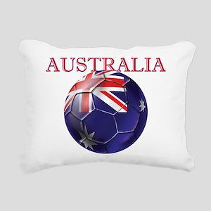 Australia Football Rectangular Canvas Pillow