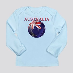 Australia Football Long Sleeve Infant T-Shirt