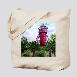 """Light at Anclote Key"" Tote Bag"