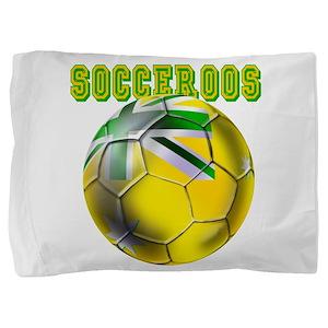 Socceroos Football Pillow Sham