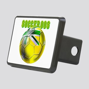 Socceroos Football Rectangular Hitch Cover