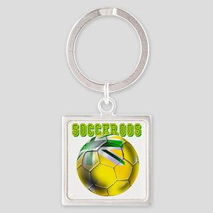 Socceroos Football Keychains