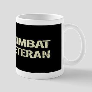Canadian Flag: Combat Veteran Mug