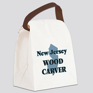 New Jersey Wood Carver Canvas Lunch Bag