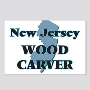 New Jersey Wood Carver Postcards (Package of 8)