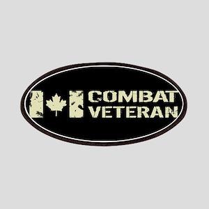 Canadian Flag: Combat Veteran Patch