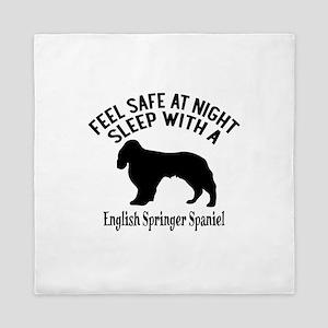 Sleep With English Springer Spaniel Do Queen Duvet