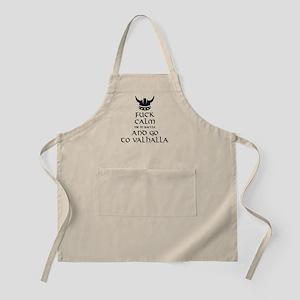Fuck Calm...Go To Valhalla Apron
