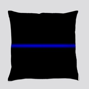 Thin Blue Line Everyday Pillow