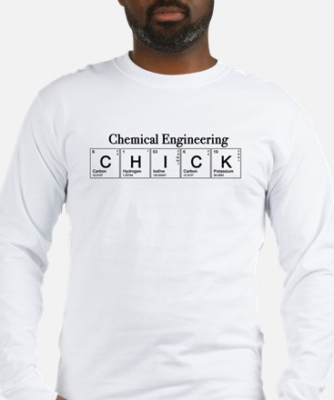Chemical Engineering Chick Long Sleeve T-Shirt