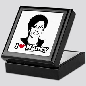 I Love Nancy Pelosi Keepsake Box