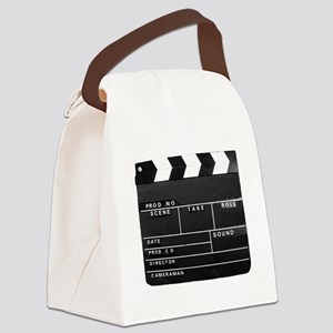 Clapperboard for movie making Canvas Lunch Bag