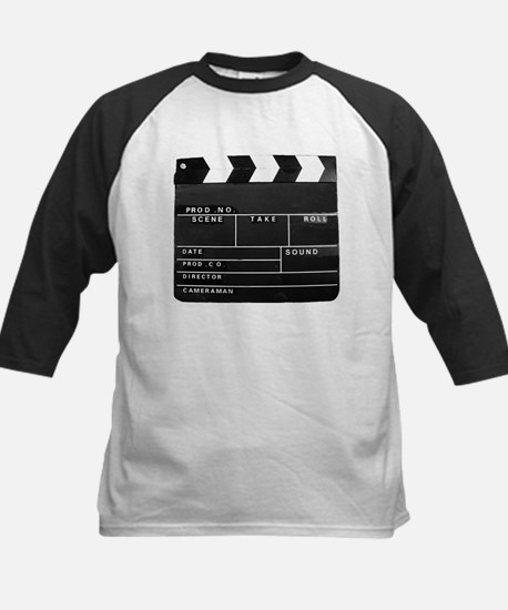 Clapperboard for movie making Baseball Jersey