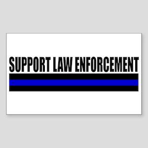 Support Law Enforcement Sticker