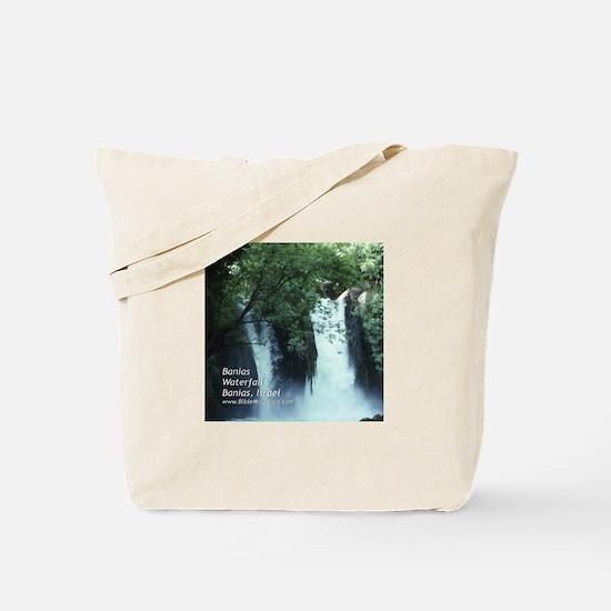 Banias Waterfall Tote Bag