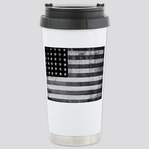 American Vintage Flag B Stainless Steel Travel Mug