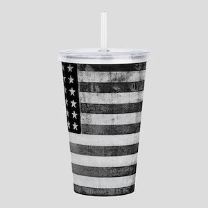 American Vintage Flag Acrylic Double-wall Tumbler