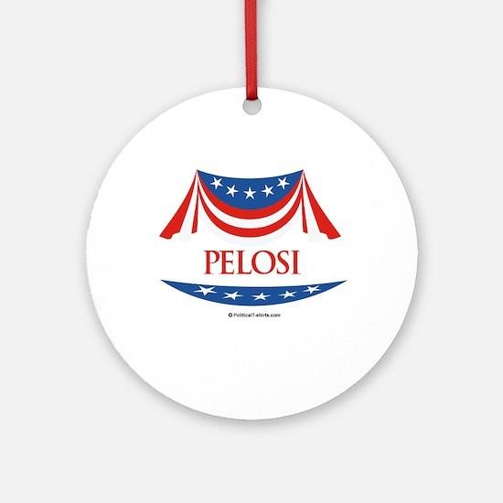 Pelosi Ornament (Round)